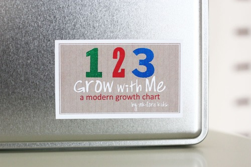 growth chart tin